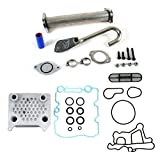 Upgraded Oil Cooler Kit & EGR Delete Kit Ford 6.0L F-250 F-350 Diesel Turbo