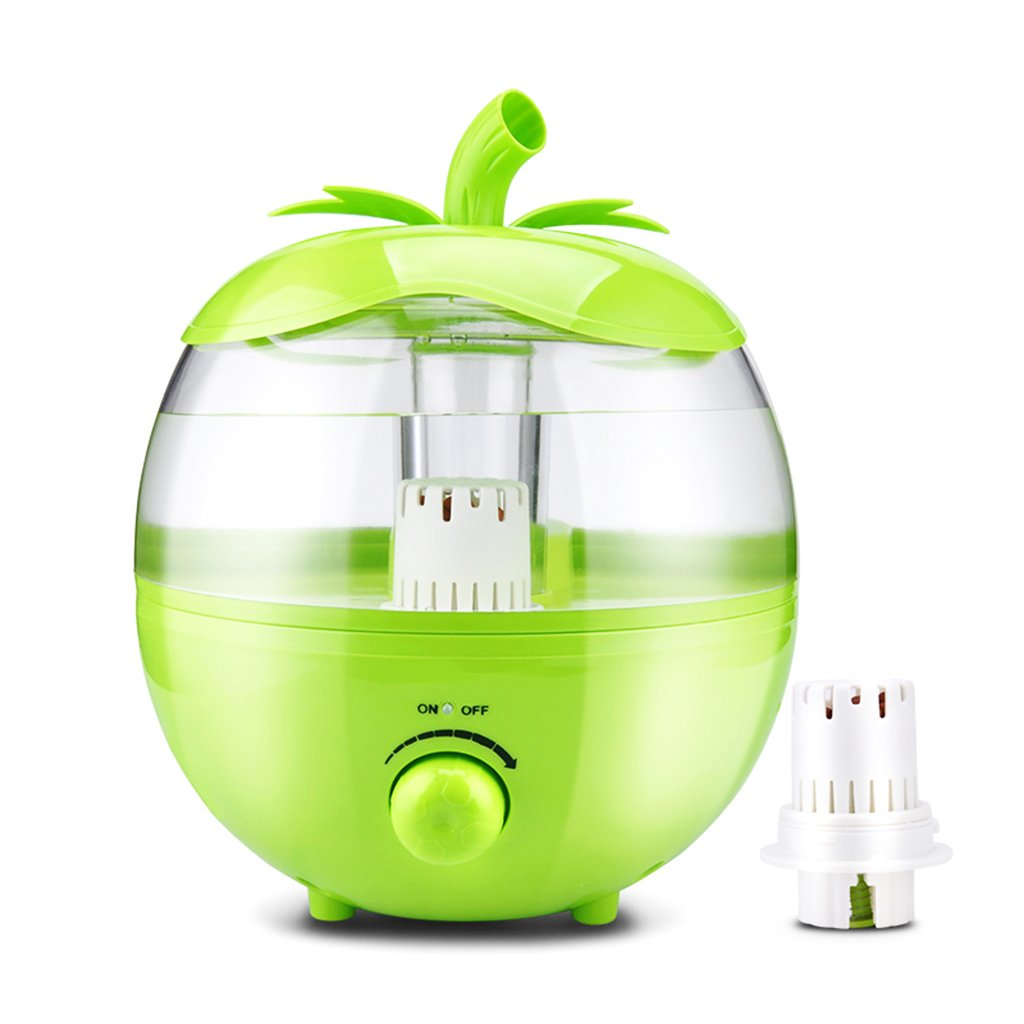 Chi Cheng Fang Electronic business Humidifier green 4L25W home mute bedrooms large capacity pregnant women mini air-conditioning purifying air purifierlength 11 width 9.4 width 9.4 inches