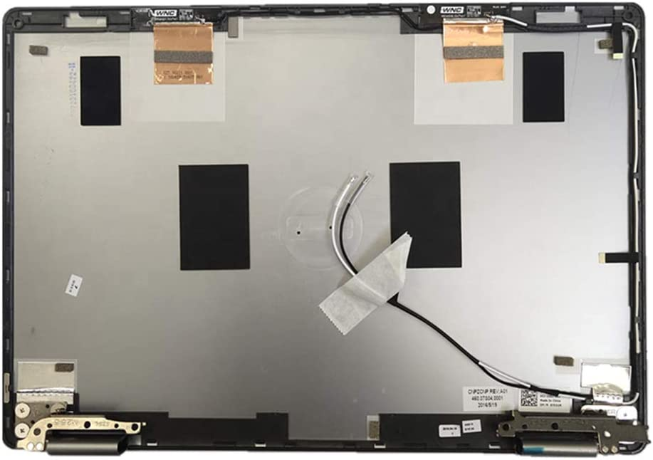 for Dell Inspiron 13MF 7368 7378 LCD Back Cover Rear Lid Top Case CN- 07531M 7531M 460.07S04.0003 with Hinges & Antenna Sliver