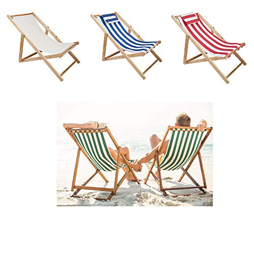 Outdoor Swimming Pool Deck Chair Balcony Lounge Chair,Foldable Sling Chair Adjustable Heigh,Gift 4 Pieces Replaceable Tarpaulin Supports 220 pounds