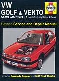 VW Golf & Vento Petrol & Diesel (Feb 92 - Mar 98) Haynes Repair Manual: Petrol and Diesel 1992 to 1998 (Haynes Service and Repair Manuals)