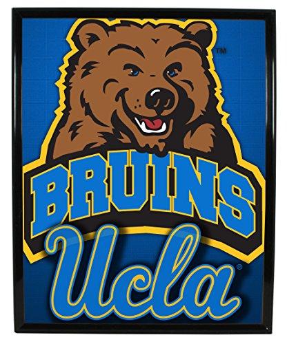Bruins Ucla Framed - UCLA BRUINS FRAMED ARTWORK-UCLA BRUINS COLLEGE FRAMED LOGO-8