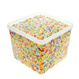 JUANYA 24000 Pieces Mini Styrofoam Balls Assorted Color 0.1 - 0.14 Inches for Slime DIY Crafts, Wedding and Party Decorations
