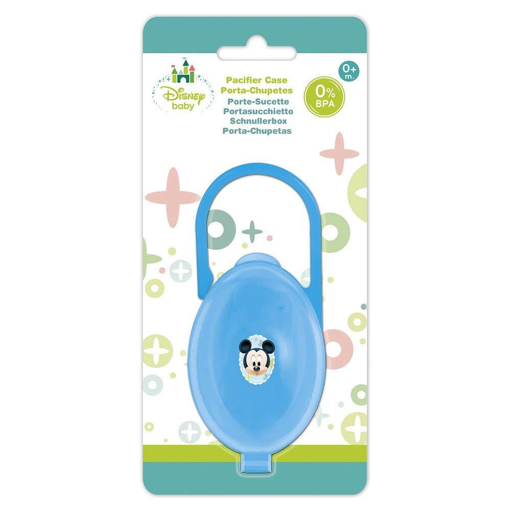 Porta chupetes en blister de Mickey Mouse (12/144): Amazon ...