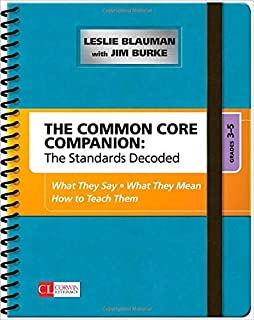 Standards Grades And Tests Are Wildly >> Amazon Com The Common Core Mathematics Companion The Standards
