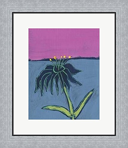 Living II by Jeffrey Milstein Framed Art Print Wall Picture, Flat Silver Frame, 19 x 22 (Milstein Print)