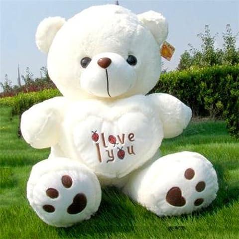50cm Giant Big Plush Stuffed Teddy Bear Huge Soft 100% Cotton Toys - Ocelot Faux Fur