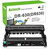 Aztech Drum Unit Compatible for Brother DR630 Drum DR-630 DR 630 Replacement for Brother HL-l2340DW HL-L2340DW HL-L2300D HL-L2320D MFC-L2700DW MFC-L2740DW MFC-L2720DW DCP-L2540DW -(2Pack-Drum Unit)