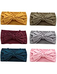Super Stretchy Knot Nylon Baby Headbands For Newborn Baby...