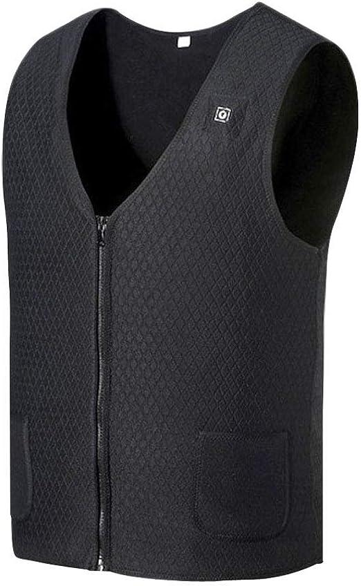 yoli Outdoor Warm Electric Heated Clothing Riding Fishing USB Charging Electric Heated Vest Photographer Keep Warm Jacket