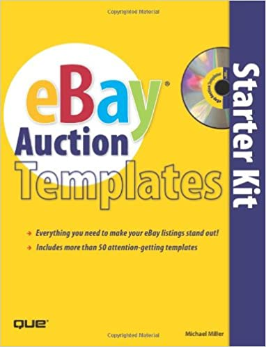 Ebay Auction Templates Starter Kit Miller Michael 9780789735638 Amazon Com Books