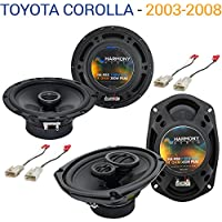 Toyota Corolla 2003-2008 Factory Speaker Upgrade Harmony R65 R69 Package New
