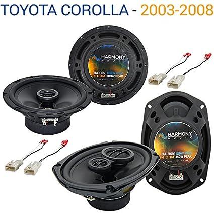 2009 toyota corolla speaker replacement