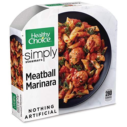 (Healthy Choice Simply Steamers Frozen Dinner, Meatball Marinara, 10 Ounce)