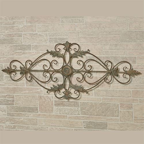 Leaf Design Wall Grille - Touch of Class Patrizio Wall Grille Verdi Gold