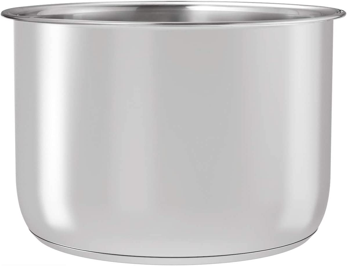 Goldlion Stainless Steel Inner Pot Replacement Insert Liner Accessory Compatible with Ninja Foodi 8 Quart