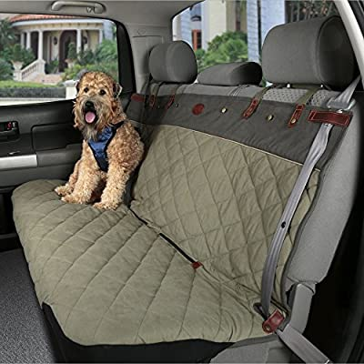 PetSafe Solvit Bench Pet Seat Cover, Dog Vehicle Seat Cover for Cars, Trucks and SUVs