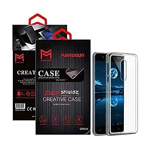 Margoun for Nokia 5 Shieldz Case Soft Clear TPU Back Cover Protection Case - Transparent Clear