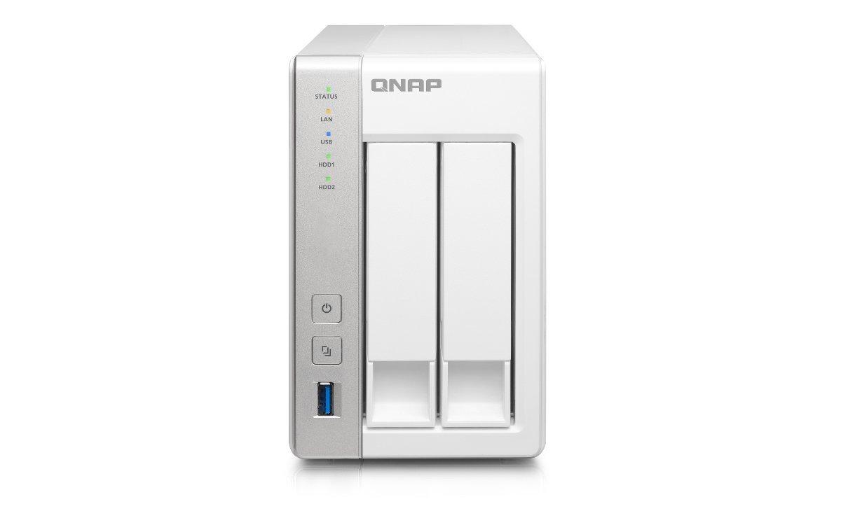 QNAP TS-231+ - Unidad RAID (1GB DDR3 RAM, 2.5