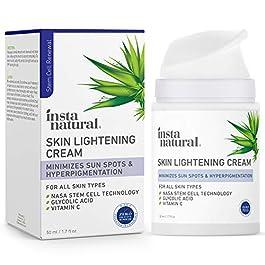 Brightening Facial Cream – Dark Spot Corrector & Remover – Scar Removal, Facial Sun & Age Spot Lightener & Brightening…
