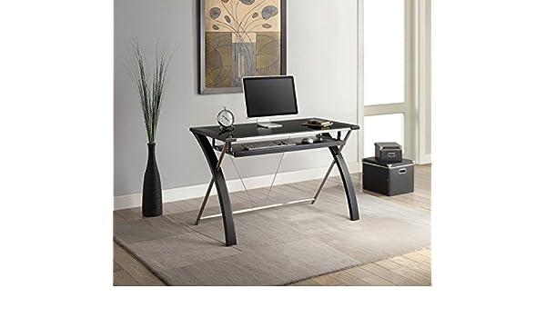 Whalen Furniture Zara - Escritorio para Ordenador de Oficina, 121 ...