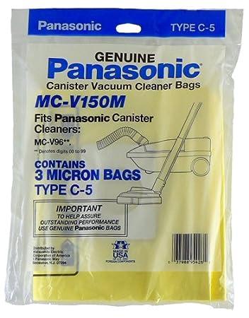 Panasonic C-5 Micron Filtration Vacuum Bags 9 bags