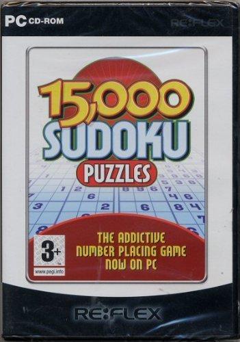 15,000 Sudoku Puzzles