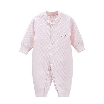 9ae790aa4 Amazon.com  EsTong Newborn Infant Baby Boy Girl Cotton Pajamas Long ...