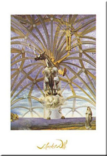 Santiago El Grande (James the Great) by Salvador Dali 31x24 Art Print Poster (Santiago El Grande)