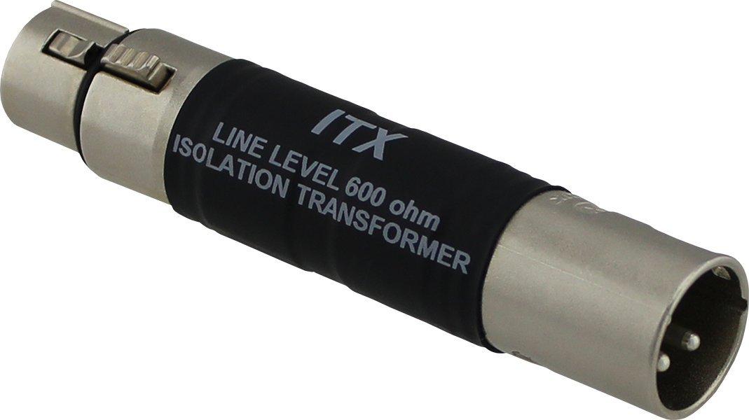 Pro Co Sound ITX Inline XLR male to XLR female transformer