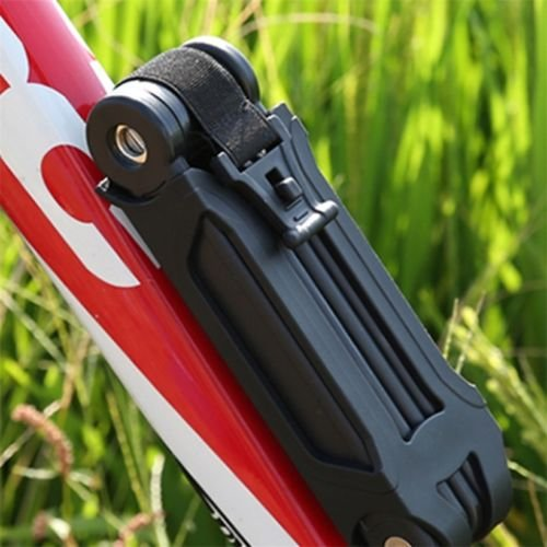 Alicenter(TM) New Bicycle Bike Folding Link Plate Lock With Keys Security Anti-Theft by Alicenter