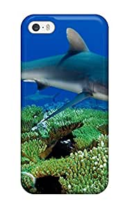 Fashion Protective Shark Case Cover For Iphone 5/5s