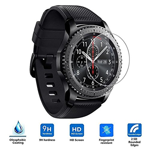 Price comparison product image For Samsung Gear S3 Classic/Frontier, Sunfei 2PC HD Film Intelligent LCD Screen Protective (Frontier)