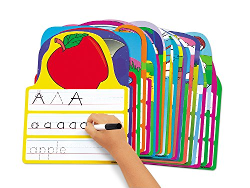 Lakeshore Write & Wipe Alphabet Practice Cards