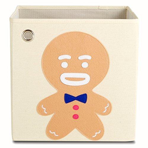 Caja de almacenamiento por kaikai & Ceniza, lona plegable Toy Bin, decoración de día festivo para niños...