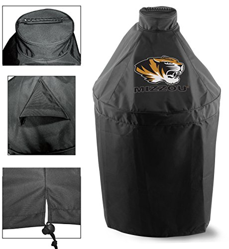 Holland Covers GC-K-Mizzou Officially Licensed University of Missouri Kamado Style Grill Cover ()