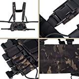 Trido Chest Rig Tactical Airsoft,Molle Multicum