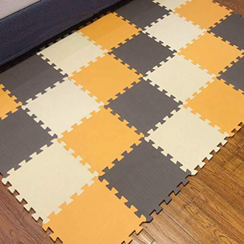 Standard Blends Floor Tile - Kids Playing Mat Baby EVA Foam Play Puzzle Mat 18 Interlocking Exercise Tiles Floor Carpet Rug for Kid,Each 30cmX30cm,1cmThick