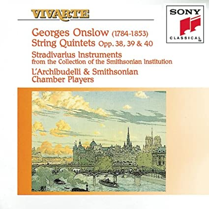 Onslow: String Quintets, Opp. 38, 39 & 40