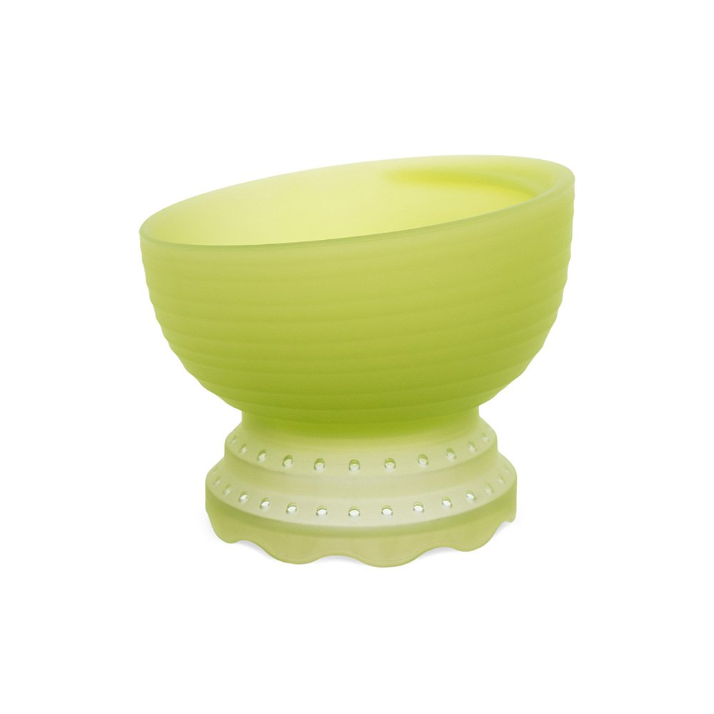 Olababy 100% Toxin-Free Silicone Steambowl Heat-Safe Baby Food Steamer Bowl