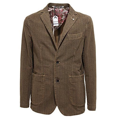 7340l Jackets co Coats Giacche At Men Uomo Marrone p Giacca vqwrv4x7