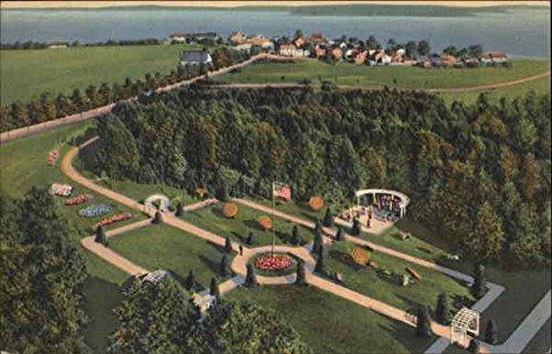 Tea Garden, Grand Hotel Mackinac Island, Michigan Original Vintage -