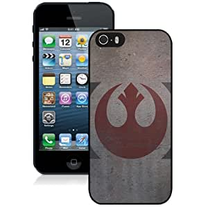 Grace Protective iPhone 5s Case Design with Star Wars Rebellion Iphone 5 5s Generation Case in Black