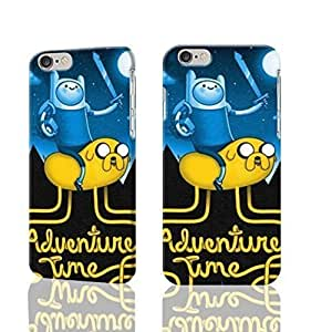 "Finn And Jake Adventure Time 3D Rough iphone Plus 6 -5.5 inches Case Skin, fashion design image custom iPhone 6 Plus - 5.5 inches , durable iphone 6 hard 3D case cover for iphone 6 (5.5""), Case New Design By Codystore"