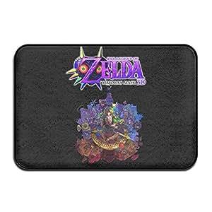 Leyenda de Zelda Majoras máscara Interior Al aire libre Floor Mat Doormats