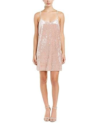 Lea   Viola Womens Crushed Velvet A-Line Dress (Large) at Amazon ... 8c617212a6cd