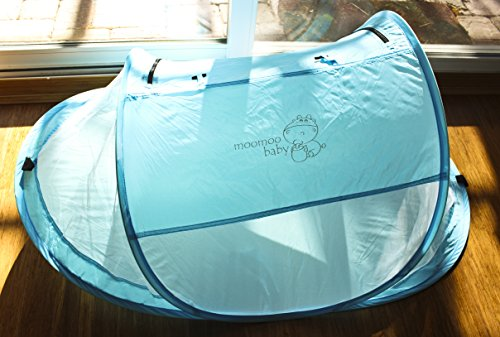 MooMooBaby Pop-Up Baby Beach Crib Tent by MooMoo Baby (Image #5)