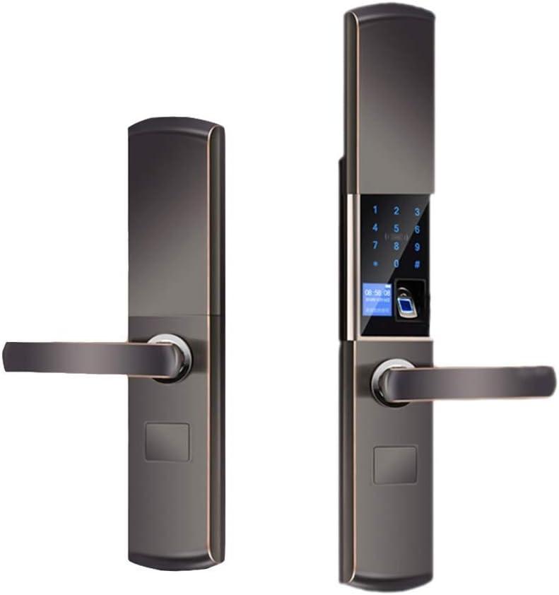Smart Digital Electronic Door Lock Fingerprint Touch Password Keyless Keypad