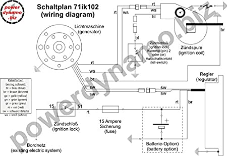 Powerdynamo Zündung System STATOR Kawasaki KDX 175 250 KX500 680,4 ...