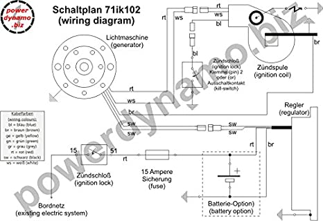 Amazon Powerdynamo Mzb Ignition Dc System Stator Kawasaki Kx. Amazon Powerdynamo Mzb Ignition Dc System Stator Kawasaki Kx 500 Kdx 250 110mm 24oz Automotive. Wiring. Kx 500 2 Stroke Stator Wiring Diagram At Scoala.co